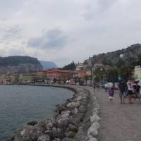 Lago di Garda - cíl naší cesty, městečko Torbole