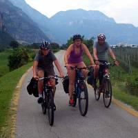 Na italské cyklodálnici