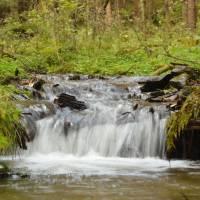 Pěkný potok (Wunderbach); čas 1/10 s.