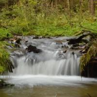 Pěkný potok (Wunderbach); čas 1/2 s