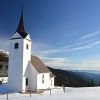 Gleinalmsattel, kostel Maria Schnee