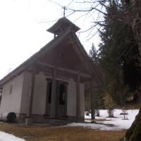 Kostelík v sedle Eisenpass