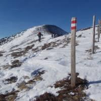 Výstup na Rossbachkogel