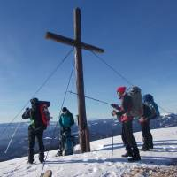 Na vrcholu Rossbachkogel