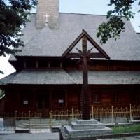 Maramureş – dřevěný kostel v Vişeu de Sus
