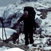 Rodna – Honza těsně na vrcholu Pietrosul