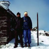 Rodna – Pietrosul (2303 m), vrcholové foto, nejvyšší hora pohoří