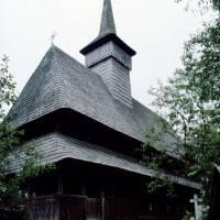 Maramureş – Săliştea de Sus: dřevěný kostel