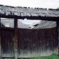 Maramureş – Săliştea de Sus: dřevěný selský dvůr