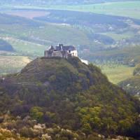 Maďarský hrad Füzer z Veľkého Miliče