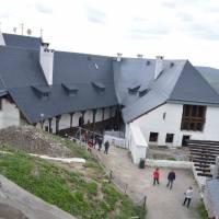 Hrad Füzer, prý nejhezčí maďarský hrad; spíše zdařilá novostavba