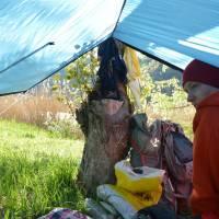 Ráno v lomu Tartali nad vesnicí Tarcal, přímo v srdci Tokaje