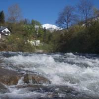 Bad Ischl a řeka Ischl
